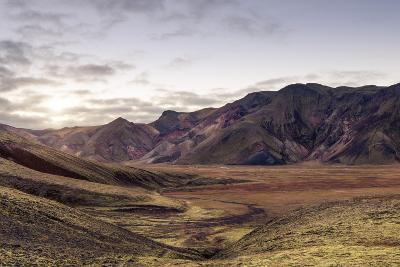 Iceland Landmannalaugar Autumn Colors-spreephoto.de-Photographic Print