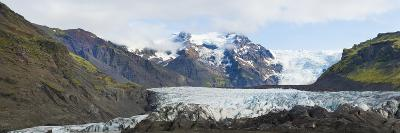 Iceland. Majestic Glaciers Panoramic, Skaftafell National Park-Bill Bachmann-Photographic Print
