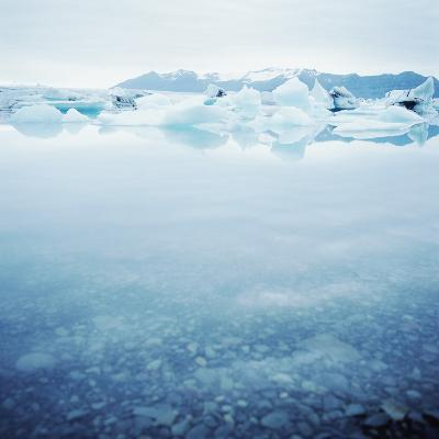 Icey Waters--Photographic Print
