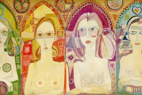 Icon, 1970-Laila Shawa-Giclee Print