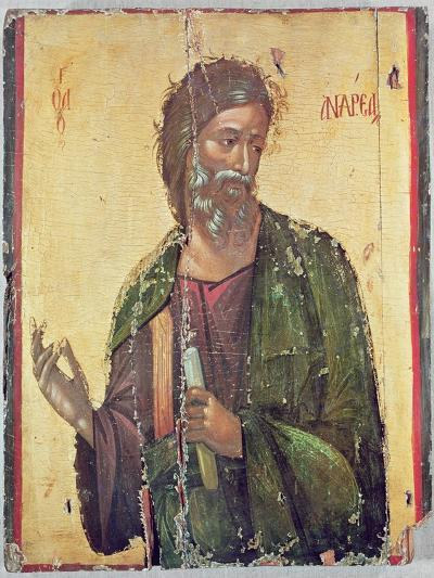 Icon Depicting St. Andrew--Giclee Print