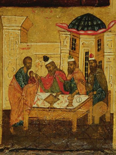 Icon Depicting the Adoration of the Maji, C.1550--Giclee Print