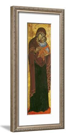 "Icon Known as the ""Virgin of Tsar Dushan"", circa 1350--Framed Giclee Print"
