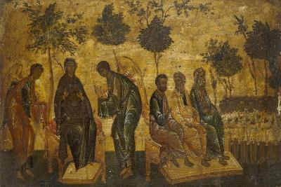Icon of the Just in Paradise, Early 16th Century--Giclee Print