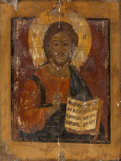Icône : Christ bénissant--Giclee Print
