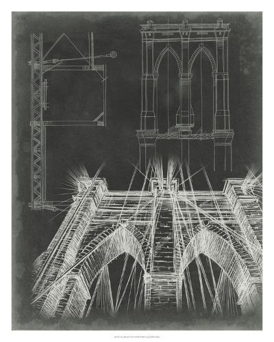 Iconic Blueprint IV-Ethan Harper-Giclee Print