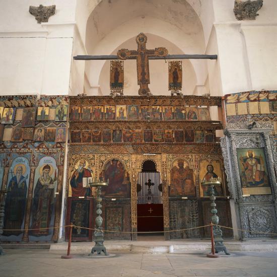 Iconostasis in Former Monastery of Apostolos Varnavas, St. Barnabas, North Cyprus-Christopher Rennie-Photographic Print