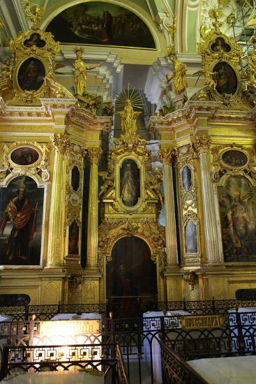 Iconostasis, Peter and Paul Cathedral, St Petersburg, Russia, 2011-Sheldon Marshall-Photographic Print