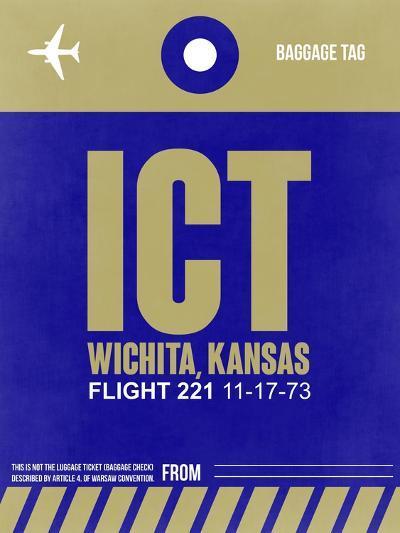 ICT Wichita Luggage Tag II-NaxArt-Art Print