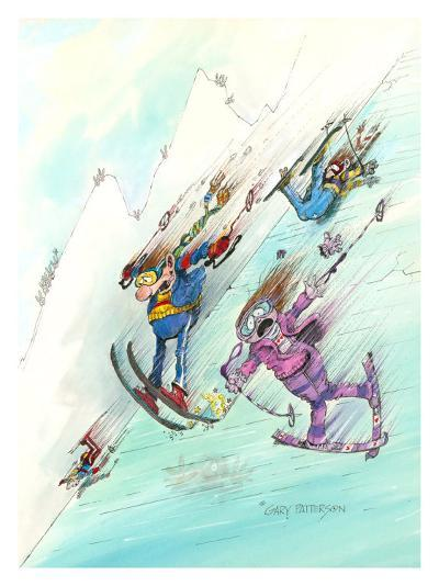 Icy Conditions-Gary Patterson-Giclee Print