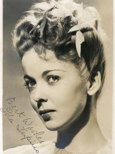 Ida Lupino (1914-199), English Actress and Director, C1930S