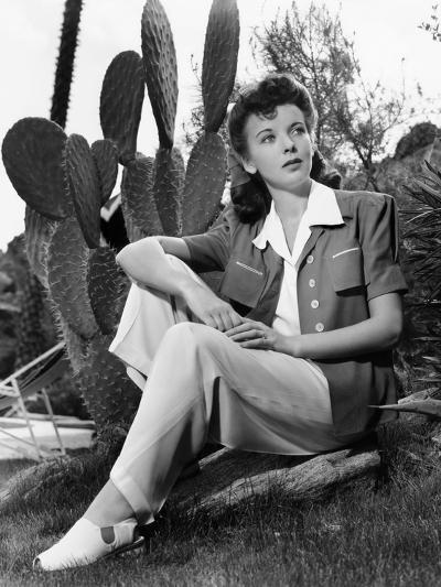 Ida Lupino, Portrait Used in Photoplay May 1941--Photo