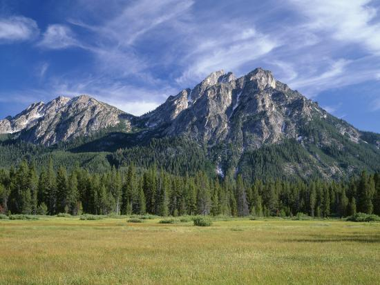 Idaho, Sawtooth National Recreation Area-John Barger-Photographic Print