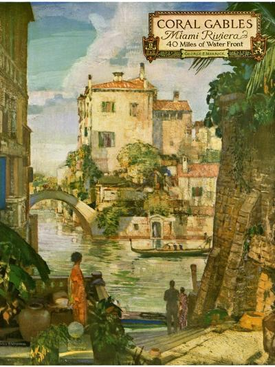 ?Ideal Florida Homes at Coral Gables, 1926--Giclee Print