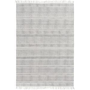 """Idina Area Rug - Gray/Ivory 5' x 7'6"""""""