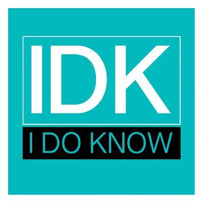 IDK-Jace Grey-Art Print