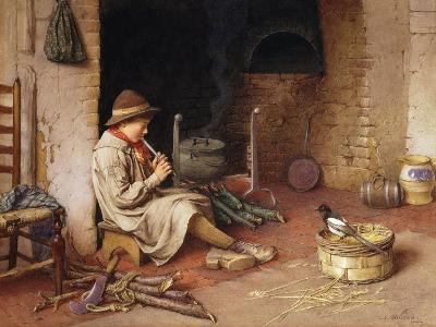 Idle Moments-Charles Edward Wilson-Giclee Print