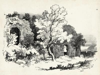 Idyllic Landscape VI-J^d^ Harding-Art Print