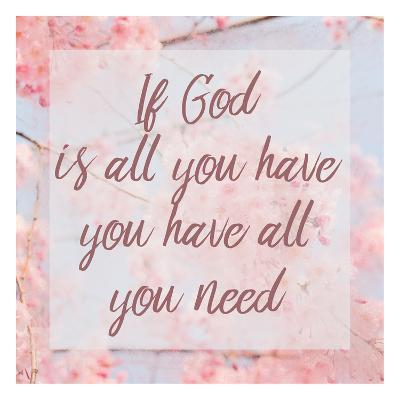 If God-Kimberly Allen-Art Print