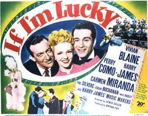 If I'm Lucky - Lobby Card Reproduction