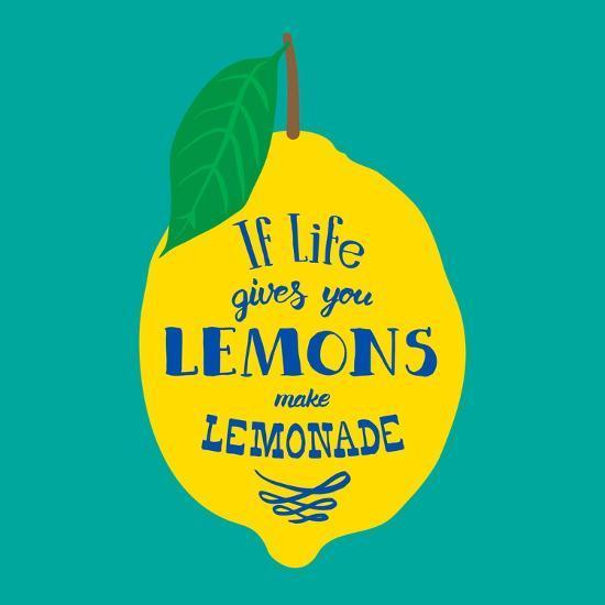 If Life Gives You Lemons, Make Lemonade-Ivanov Alexey-Art Print
