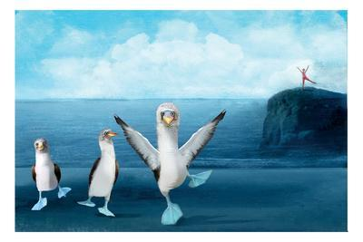 If You Were A Blue Footed Booby-Nancy Tillman-Premium Giclee Print