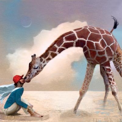 If You Were A Giraffe-Nancy Tillman-Art Print