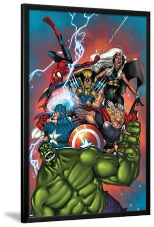 Marvel Adventures The Avengers No.36 Cover: Hulk by Ig Guara