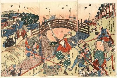 Iga Goe Norikake Kappa-Utagawa Toyokuni-Giclee Print