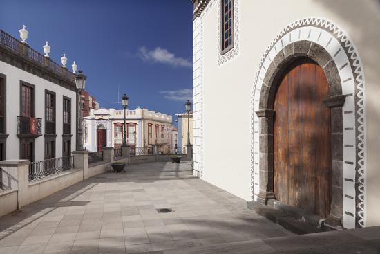 Iglesia De Bonanza Church, El Paso, La Palma, Canary Islands, Spain, Europe-Markus Lange-Photographic Print