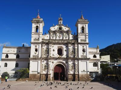 Iglesia Los Dolores, Tegucigalpa, Honduras, Central America-Christian Kober-Photographic Print