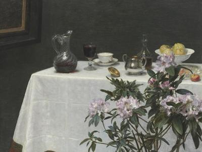 Still Life: Corner of a Table, 1873 by Ignace Henri Jean Fantin-Latour