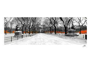 The Gates along Poet's Walk, Central Park by Igor Maloratsky