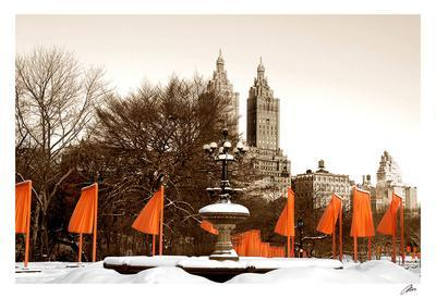 The Gates and Fountain, Central Park