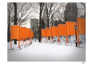 The Gates, Central Park by Igor Maloratsky
