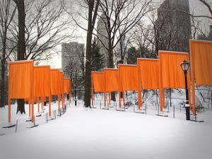 The Gates, Central Park by Igor Maloratsky