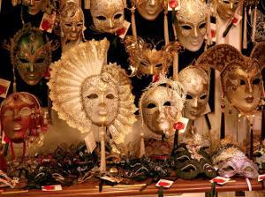 Venitian Masks, Venice by Igor Maloratsky