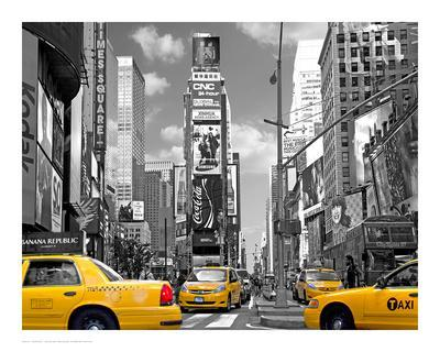 Yellow Cabs, Times Square