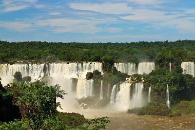 Iguassu Falls, Brazil-Arnaldo Jr-Photographic Print