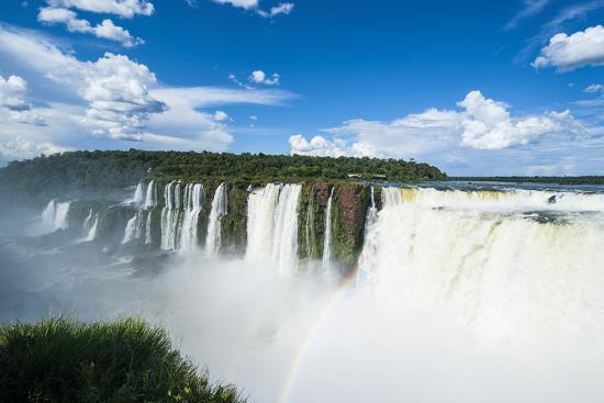 Iguazu Falls, Foz De Iguazu, Argentina-Michael Runkel-Photographic Print