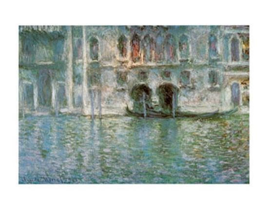II Palazzo da Mula a Venezia-Claude Monet-Art Print