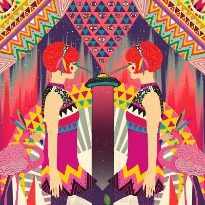 II-Diela Maharanie-Art Print