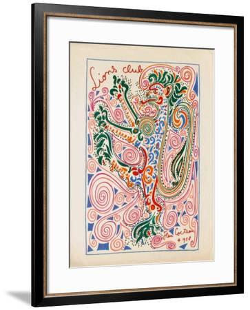 IIons Club-Jean Cocteau-Framed Premium Edition