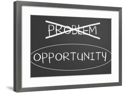 Problems Opportunity Concept