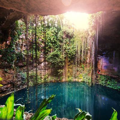 Ik-Kil Cenote, Mexico-Galyna Andrushko-Photographic Print