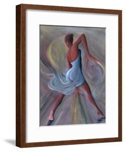Blue Dress by Ikahl Beckford