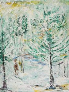 Snowy Woods by Ikahl Beckford