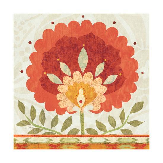 Ikat Bloom II--Art Print
