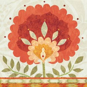 Ikat Bloom II