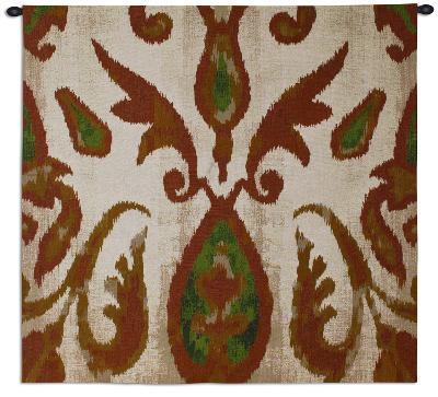 Ikat Citrus--Wall Tapestry